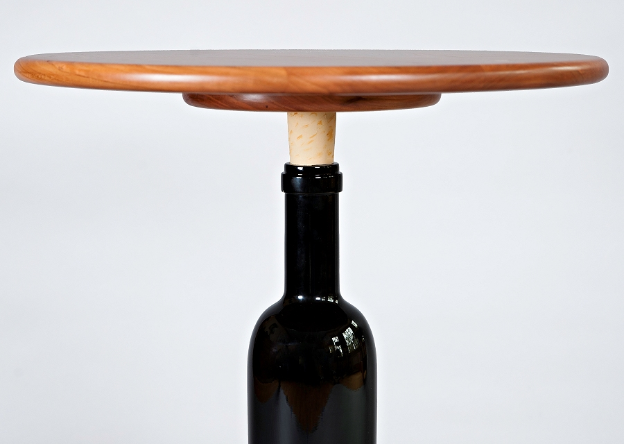 Wine Bottle Table